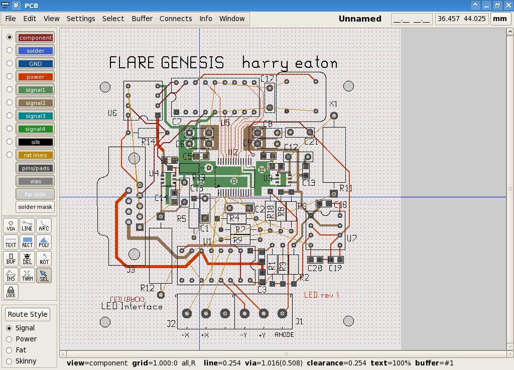 CAD circuit board design